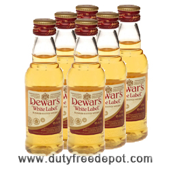 Dewars White Label Whisky Miniature (5 cl X 6)