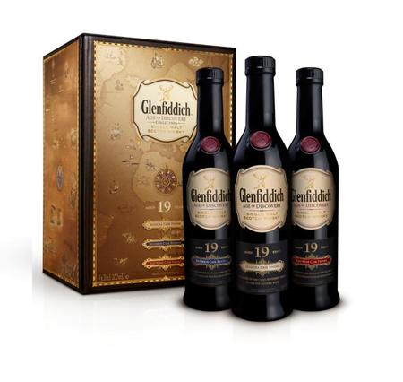 Age of Discovery Collection Glenfiddich 19 years old (Madeira+Bourbon+Red Cask Finish 200mlx3)