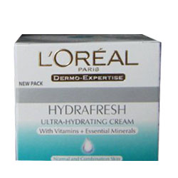 Loreal Hydrafresh Ultra-Hydrating Cream (50 ml./1.7 oz.)
