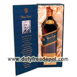 Johnnie Walker Blue Label Cask Whisky 1 Lt (with Gift Box)