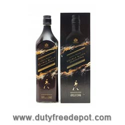 Johnnie Walker Double Black Limited Edition With Gift Box 1 Liter