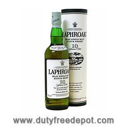 Laphroaig Single Malt Whisky 10 Year Old (70CL)