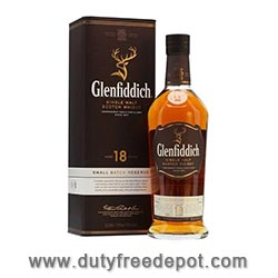 Glenfiddich 18 Year Old Single Malt Scotch Whisky (70 CL)