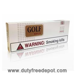 20 Cartons of Golf Gold 100 Soft