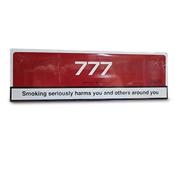 10 Cartons of 777 Red Cigarettes