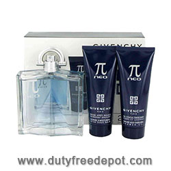 "Givenchy ""PI"" Neo Eau de Toilette For Men + After Shave + Shower Gel Set  3X(100 ml./3.4 oz.)"