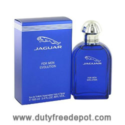 Jaguar Evolution Eau De Toilette Natural Spray (100 ml./3.4 oz.)