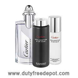 Cartier Declaration D'un Soir Eau De Toilette+ Shower Gel + After-Shave 100X2+30ML