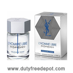 Yves Saint Laurent  L'Homme Libre Eau De Toilette For Men 2014 (100 ml./3.4 oz.)