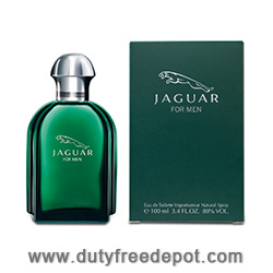Jaguar For Men Eau de Toilette for Men Natural Spray 100ml