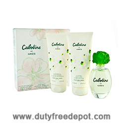 Gres Cabotine Duty Free Trio (EdT 100ml, Body Lotion 200ml, Shower Gel 200ml)