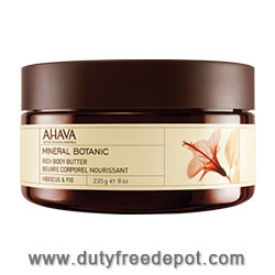 Ahava Mineral Botanic Body Butter Hibiscus And Fig (235 gr/8 oz)