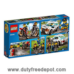 LEGO High Speed Police Chase V