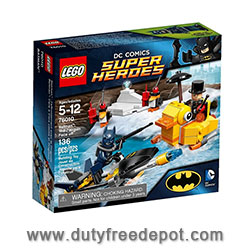 LEGO Batman: The Penguin Face off