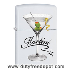 Zippo 28271 Gold Design BS Martini Lighter