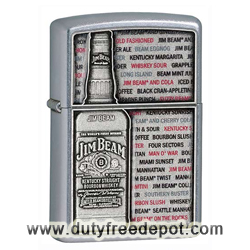 Zippo 28344 Jim Beam's Emblem Windproof Pocket Lighter