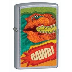 Zippo Street Chrome Lighter (model: 24886)