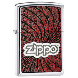 Zippo Lustre Chrome lighter (model: 24804)