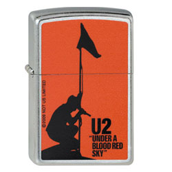 Zippo U2 Under a Blood Red Sky Lighter  207-005389