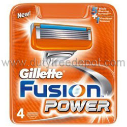 Gillette Fusion Power 5 Blade   (4 cartridges)