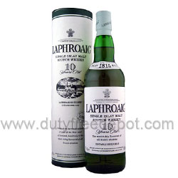 Laphroaig Malt Whiskey (1L) With Gift Box