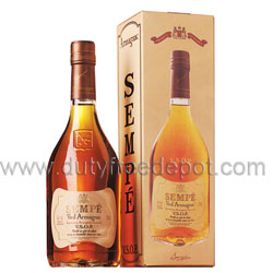 Sempe Armagnac VSOP Cognac (700 ml.), With Gift Box